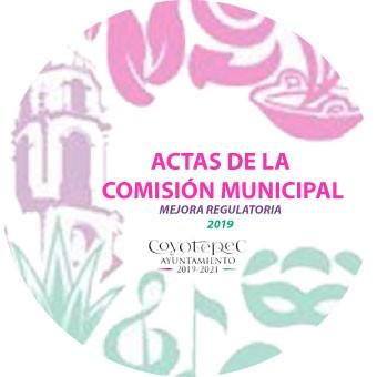 ACTAS DE LA COMISIÓN MUNICIPAL
