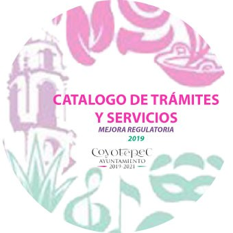 CATALOGO DE TRAMITES Y SERVICIOS